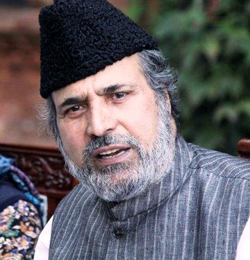 Senior leader of Peoples Democratic Party Muzaffar Hussain Beigh   Photo: Bilal Bahadur