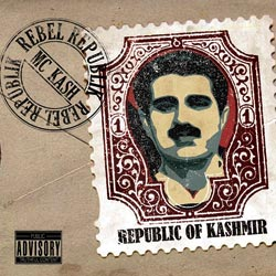 Album Cover Of MC Kash's debut Album, Rebel Republic