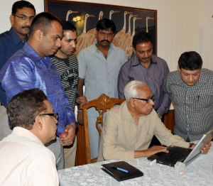 Governor Launching Website of SABLO on Saturday