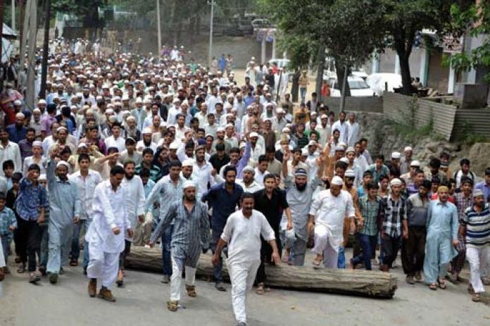 Ramban-protest