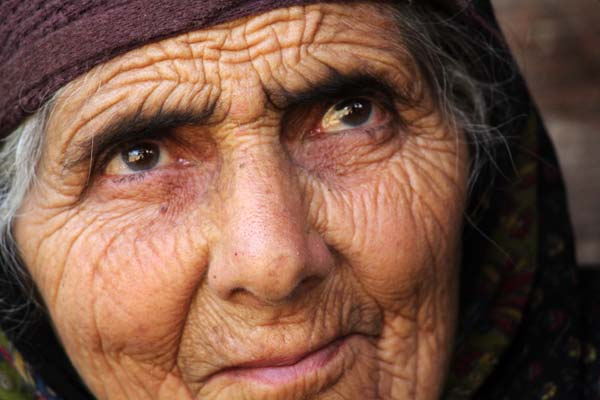 Even now Lal Jan hasn't come out of the pain and memories of her son are lurking somewhere deep in her wet eyes.