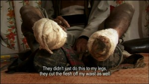 A still from the documentary, Kashmir's Torture Trail