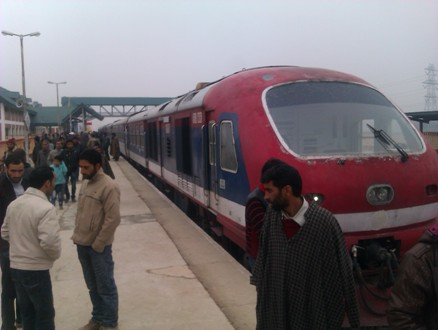 File photo of Rail in Kashmir