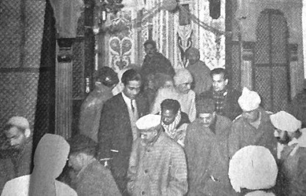 Lal Bahadur Shashtri, first Indian president.