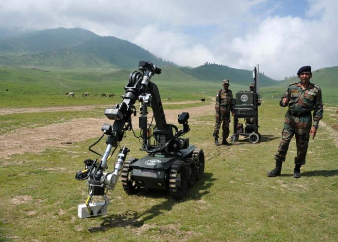 Mechanical Treatment: In their defense, army say: during the peak of militancy, scores of encounters took place in the meadow and many ammunition dumping sites were also unearthed.