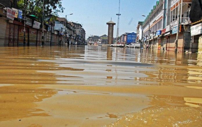 City centre Lal Chowk. Photo: Bilal Bahadur