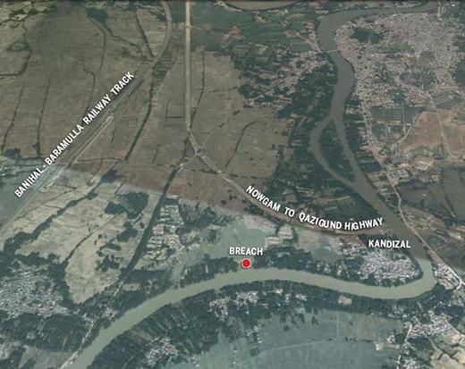 Kandizal-Map