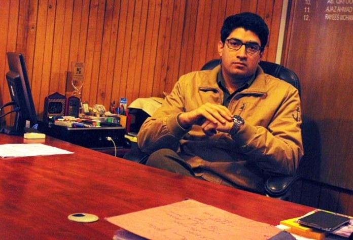 SP Hazratbal, Rayees Mohammad Bhat Pic: Durdana Bhat