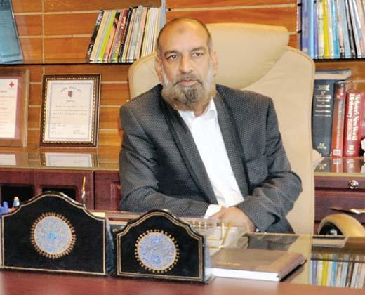 Prof Khurshid Iqbal Andrabi