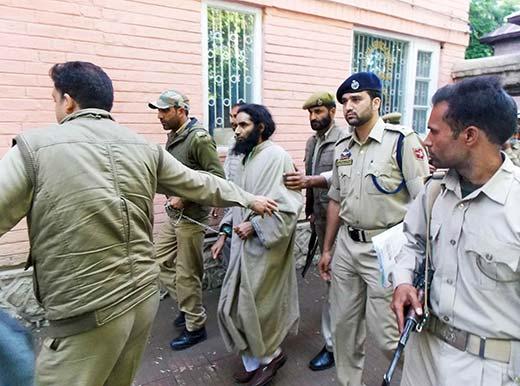 Police taking Gulzar Peer under custody