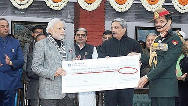 Army Cheque