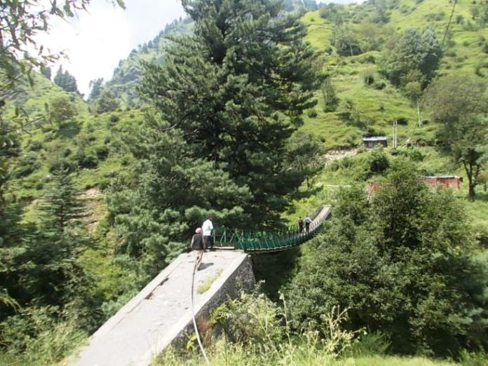 A file photo of Poonch village borders. (KL Image: Meha Dixit)