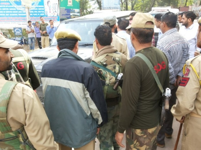 Police taking Er Rashid into custody