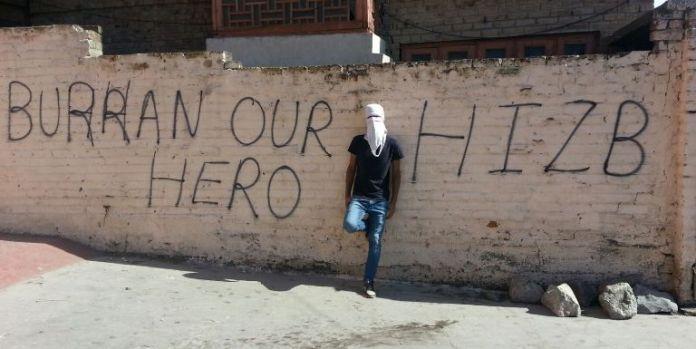 Burhan Wani Graffitti