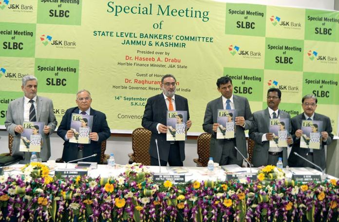kashmir-life-Bank-Survey-released-by-RBI-Governor,-Dr-Haseeb-A-Drabu-etc
