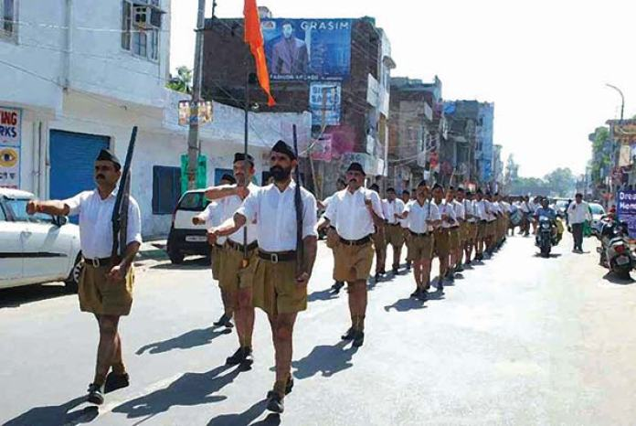 RSS march in Jammu