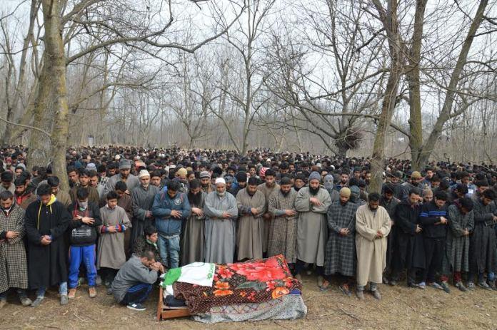 LeT Militant Funeral 1