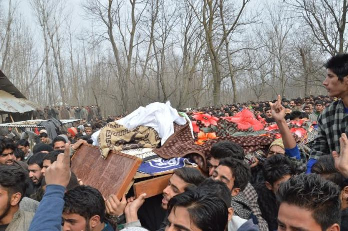 LeT Militant Funeral