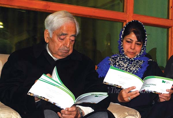 release-of-the-Party-Manifesto-for-the-Assembly-elections-of-Jammu-and-Kashmir-Assembly-presently-underway-in-Srinagar-Friday-on-28,-November
