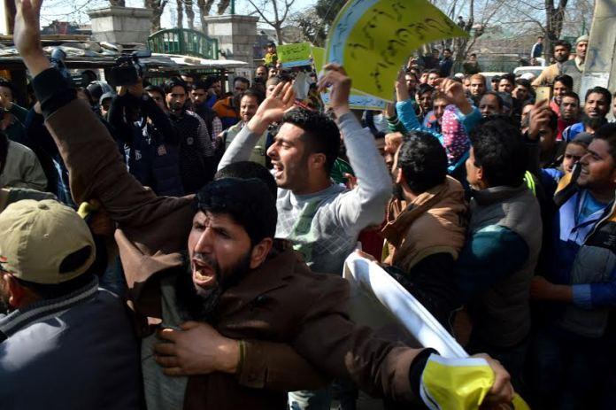 Hurriyat g Protest