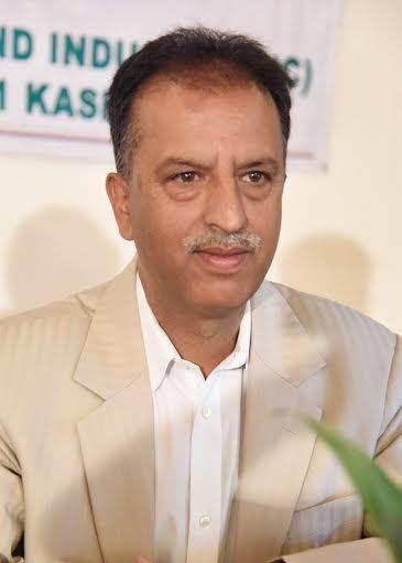 KCCI President Mushtaq Ahmad Wani.