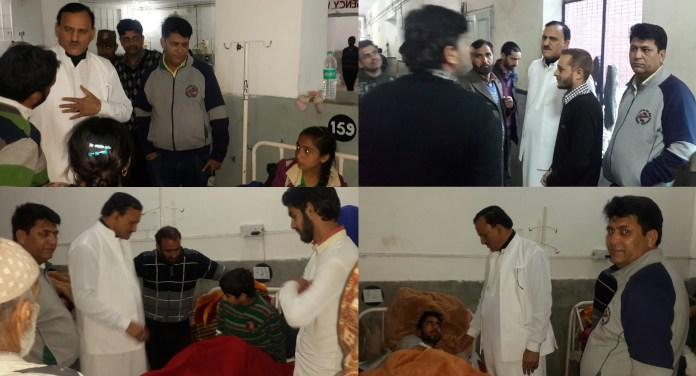 Saroori visits GMC hospital Jammu