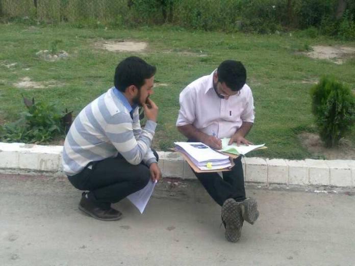 The author during his EDI days.