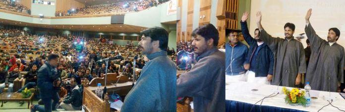 Congress Youth Convention in Srinagar