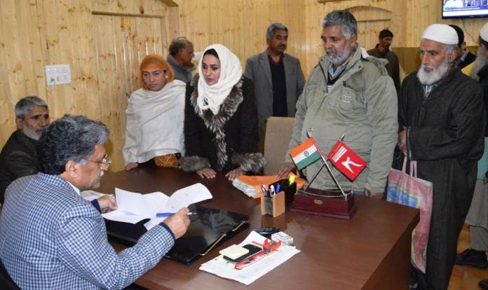Khurshid Ganie attending Public