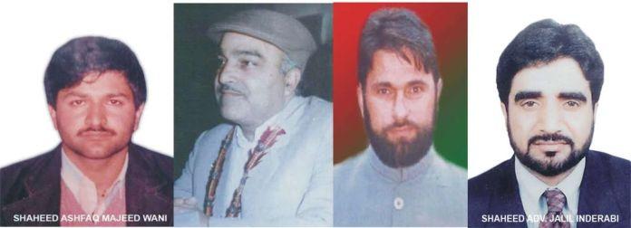 Martyrs of Kashmir