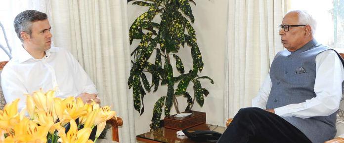Omar Abduallah with Vohra