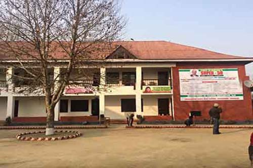CM's Super 50 centre at Government School Hyderpora. Div Com had raised questions over its functioning.