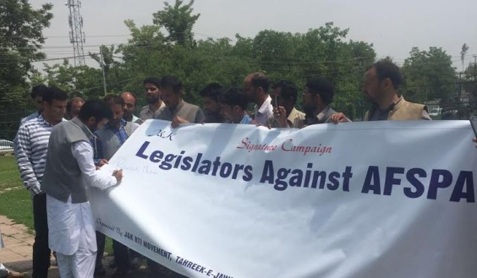AFSPA Campaign on May 11, 2016