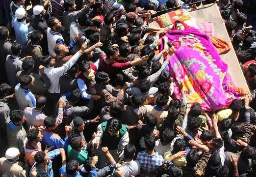 Funeral of a militant in this KL file Image