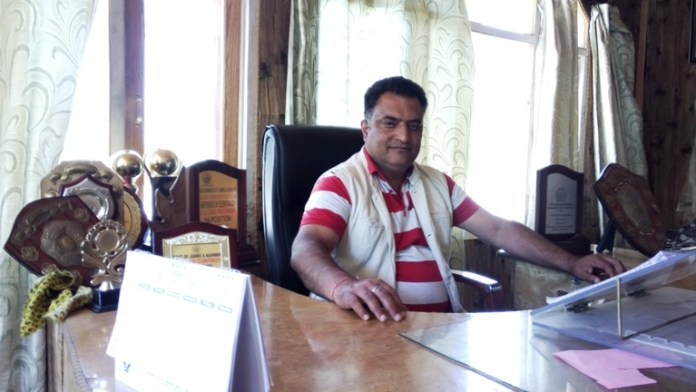 Sanjay Verma in his office.