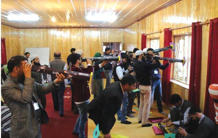 KU Astronomy workshop at Kothibagh Girls Hr Sec School on May 07, 2016