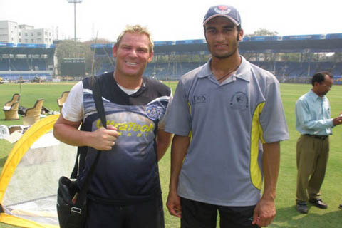 The Ranji Pacer with Shane Warne