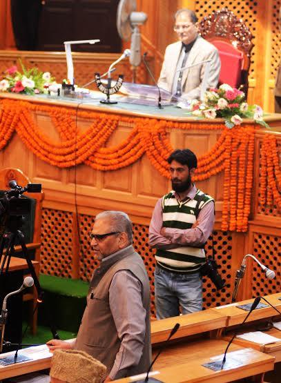 National Conferene lawmaker, Mohammad Shafi Urvi: (KL Image: Bilal Bahadur)