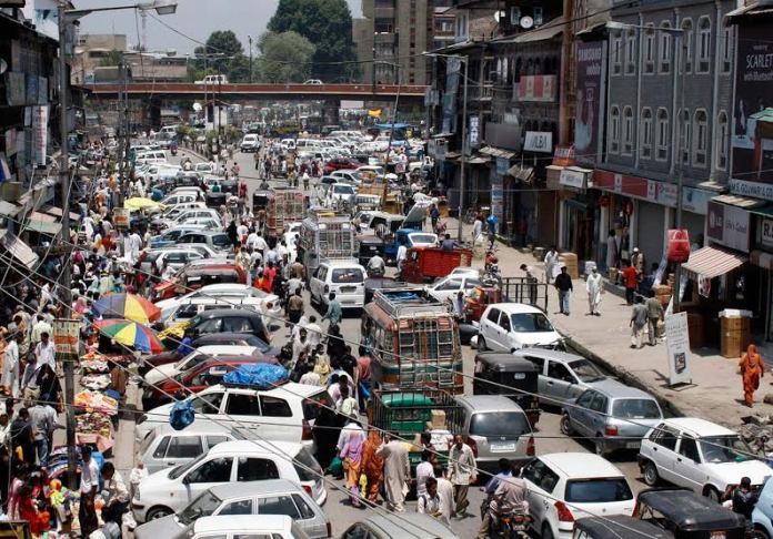 Parking of vehicles is an important issue which commuters need to keep in mind. Use parking slots in city, avoid traffic mess. (KL file Image: Bilal Bahadur)