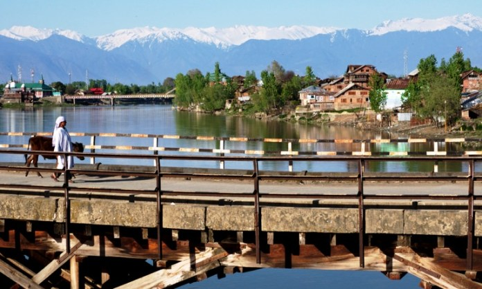 Sopore bridges on Jhelum: File picture