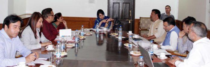 CM chairs GDA Meet on June Ist 2016