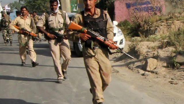CRPF Men Attacked