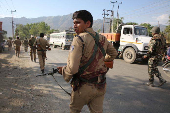 Injured CRPF man. (Photo: Javed Dar/KL)