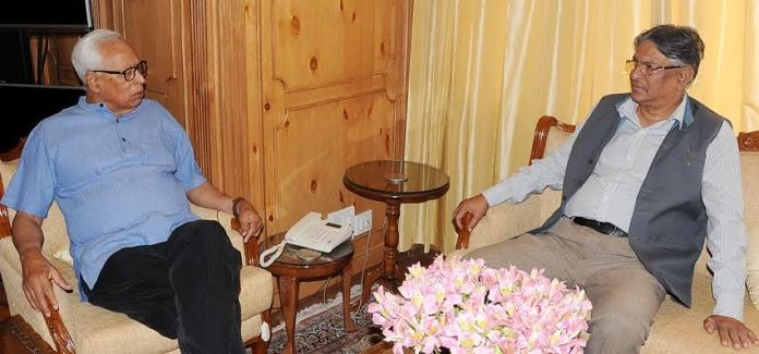 Vohra meets Prof Talat