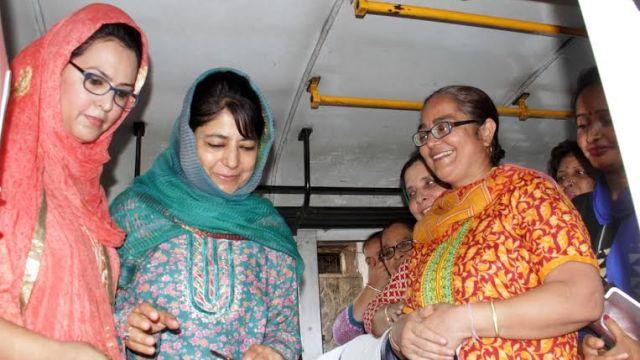 Women Special Bus Service in Jmu