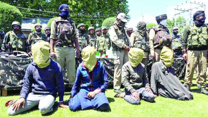 Baramulla killing accused arested.