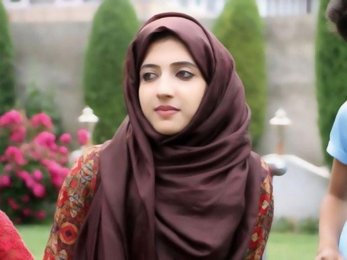 Sama Shabir, the daughter of Kashmiri separatist leader Shabir Ahmad Shah