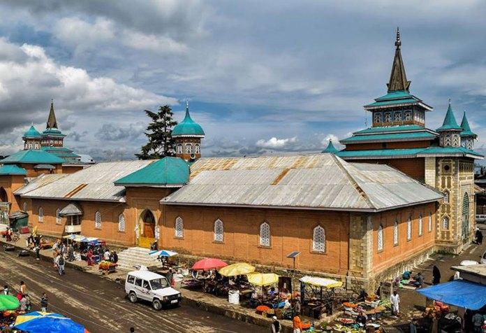 Jamia Masjid Shopian. KL Image: Bilal Bahadur