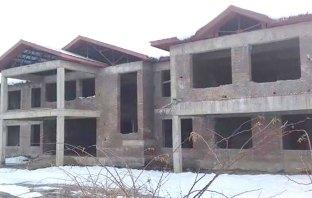 Abandoned DH Pora hospital building. KL Image by Faheem Mir