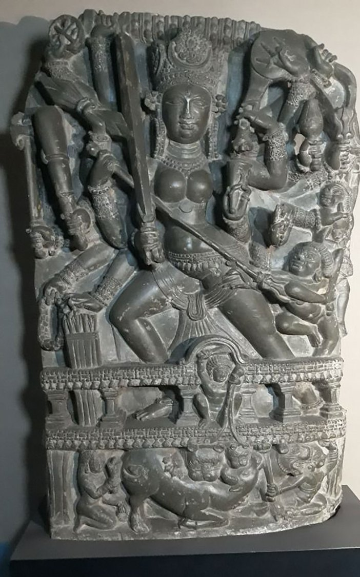 Durga-statue-smuggled-out-of-Kashmir-and-recovered-from-Germany.